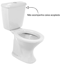 Vaso Sanitário para Caixa Acoplada Branco Diamantina Icasa