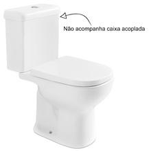 Vaso Sanitário para Caixa Acoplada Branco Etna Icasa