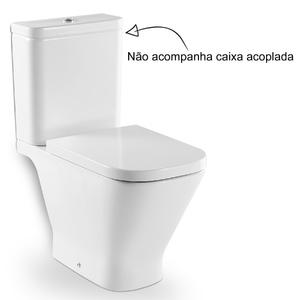Vaso Sanit Rio Para Caixa Acoplada Branco Gap Roca Leroy