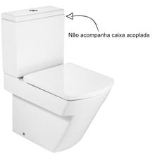 Vaso Sanitário para Caixa Acoplada Branco Hall Roca