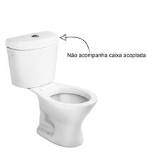 Vaso Sanitário para Caixa Acoplada Branco Infantil Icasa