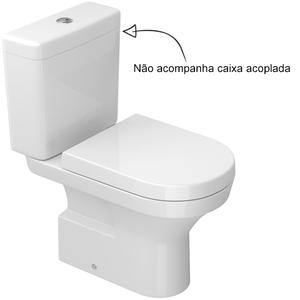 vaso sanit rio para caixa acoplada branco level deca On sanitarios leroy merlin