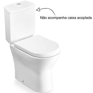Vaso Sanitário para Caixa Acoplada Branco Nexo Roca