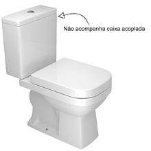 Vaso Sanitário para Caixa Acoplada Branco Quadra Deca