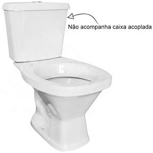 Vaso Sanitário para Caixa Acoplada Branco Valentina Santamarina