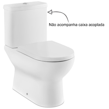 Vaso Sanitário para Caixa Acoplada Branco Vesúvio Icasa