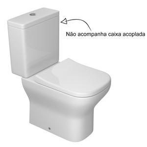 Vaso Sanit Rio Para Caixa Acoplada Branco Axis Deca