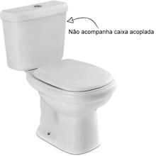 Vaso Sanitário para Caixa Acoplada Cinza Claro Sabatini Icasa