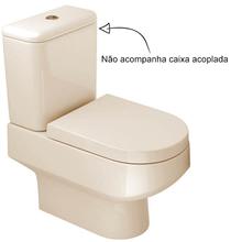 Vaso Sanitário para Caixa Acoplada Creme Carrara Deca