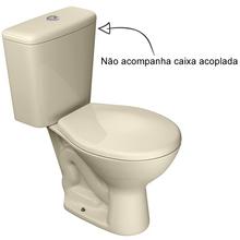 Vaso Sanitário para Caixa Acoplada Creme Izy Deca