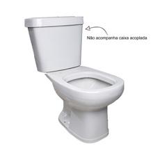 Vaso Sanitário para Caixa Acoplado Saída Vertical Donna Branco SantaMarina