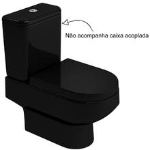 Vaso Sanitário para Caixa Acoplada Ébano Carrara Deca
