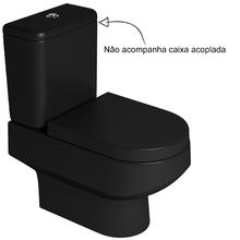 Vaso Sanitário para Caixa Acoplada Ébano Fosco Carrara Deca
