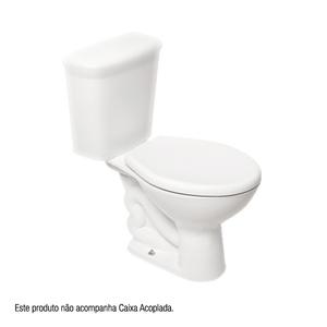 Vaso Sanitário para Caixa Acoplada Jade Branco Deca
