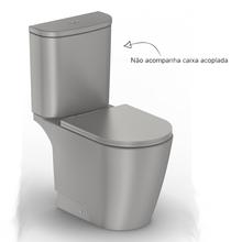 Vaso Sanitário para Caixa Acoplada Neo Cinza Incepa