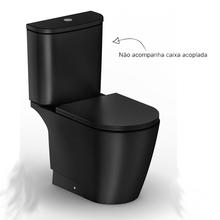 Vaso Sanitário para Caixa Acoplada Neo Preto Incepa