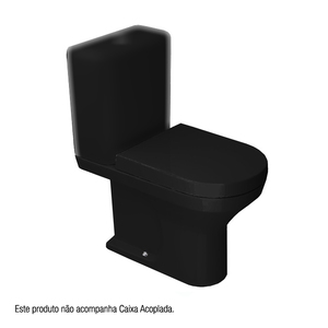 Vaso Sanitário para Caixa Acoplada Nuova Ébano Deca