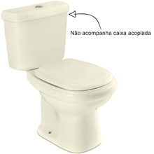 Vaso Sanitário para Caixa Acoplada Palha Sabatini Icasa