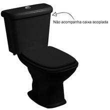 Vaso Sanitário para Caixa Acoplada Preto Fit Celite