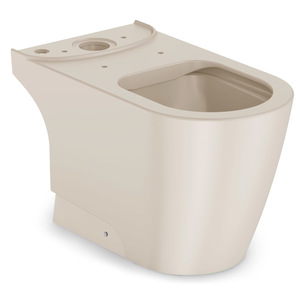 Vaso Sanitário para Caixa Acoplada Rimless Bege Incepa