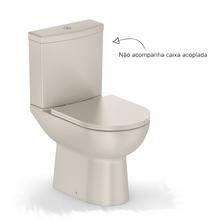 Vaso Sanitário para Caixa Acoplada Smart Bege Celite