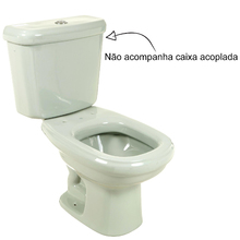 Vaso Sanitário para Caixa Acoplada Verde Claro Sabatini Icasa