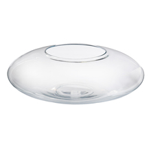 Vaso Vidro Terrário Oval Extra Grande Incolor