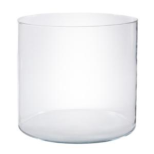 Vaso vidro terr rio redondo extra grande incolor leroy for Vaso terracotta leroy merlin