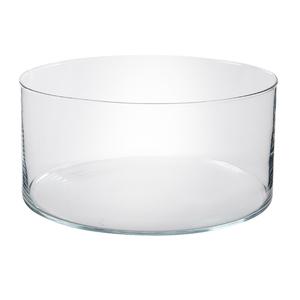 Vaso vidro terr rio redondo grande incolor leroy merlin for Vaso terracotta leroy merlin