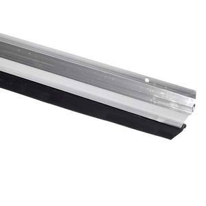 Veda Porta 100 cm Alumínio Anodizado Incolor Brilhante Reisam