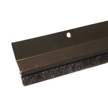 Veda Porta Parafusar Escova Alumínio 80cm Bronze