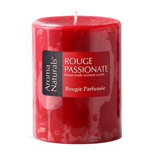 Vela Aromatizada Pilar Rouge Passionate Vermelha Botânica Velas