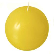 Vela Bola Amarela 8cm