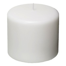Vela Cilíndrica 12x10 cm Branca CJA