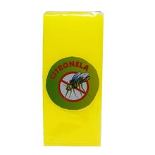 Vela Repelente Citronela Amarela 15x6,5cm