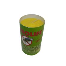 Vela Repelente Citronela Amarela 9x5cm