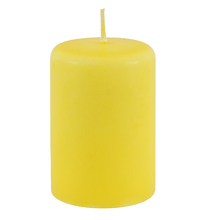 Vela Repelente Citronela Amarela 9x6cm