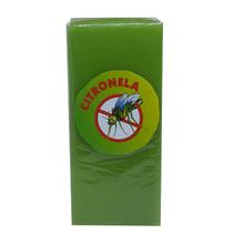 Vela Repelente Citronela Verde 15x6,5cm