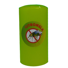 Vela Repelente Citronela Verde 15x8cm