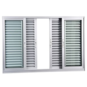 Veneziana Correr Aluminio Branco 6 Folhas S/Grade 100,00 X 120,00 X 10,40 Cm Eterna Gravia