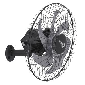 Ventilador de Parede 50cm Bivolt Preto Tufão Loren Sid