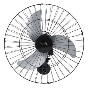 Ventilador de Parede 60cm Bivolt Preto Tufão Loren Sid