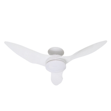 Ventilador de Teto com Controle Remoto 3 pás Branco Confort Inspire Bivolt