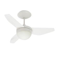 Ventilador de Teto com Controle Remoto 3 pás Branco Nano Inspire 220V