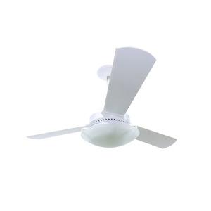 Ventilador de Teto 3 pás Branco Reto Zenys 127V (110V)