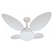 Ventilador de Teto 4 pás Branco Texturizado 1024 Rioprelustres 127V (110V)