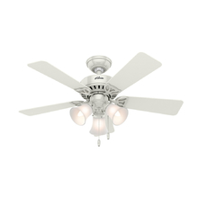 Ventilador de Teto Hunter Beacon Hill Branco 5 pás 250V (220V)