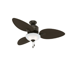 Ventilador de Teto Hunter Gulf Winds Marrom 3 pás 250V (220V)