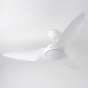 Ventilador de Teto LED Terral Aliseu 3 pás Branco 110V