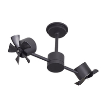 Ventilador de Teto sem Luminária 3 Pás Preto Style Inspire Bivolt